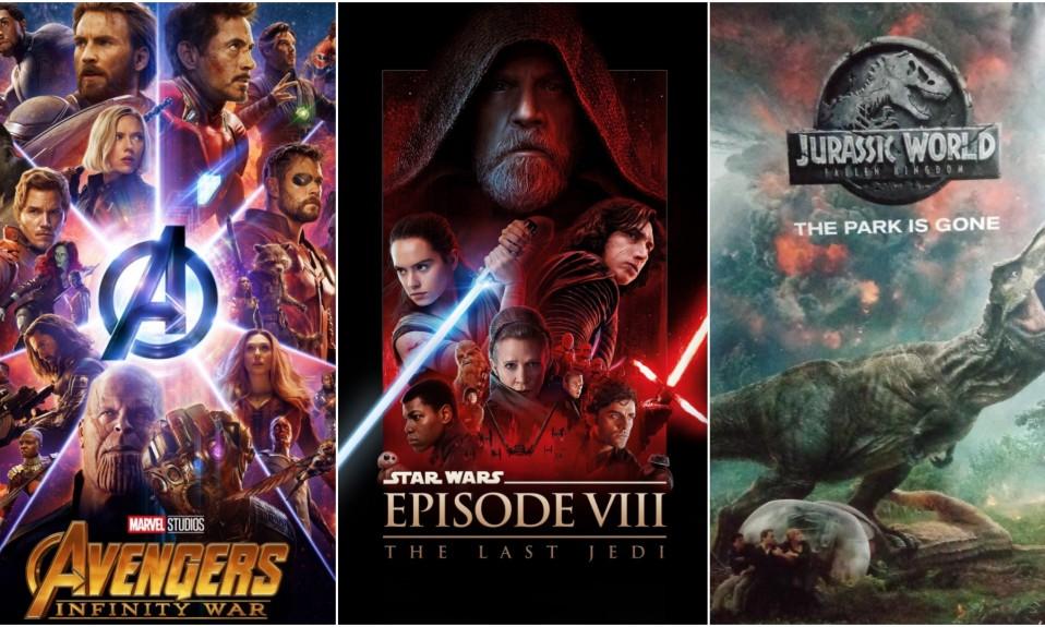 Avengers, Star Wars & Jurassic World