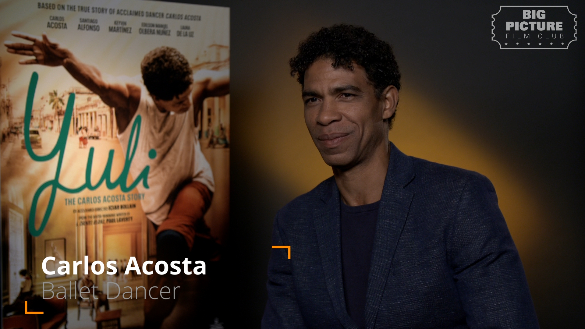 "Carlos Acosta - Big Picture Film Club Interview - ""Yuli"""