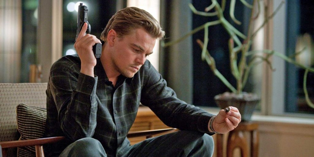 Inception Screenshot - Leonardo DiCaprio