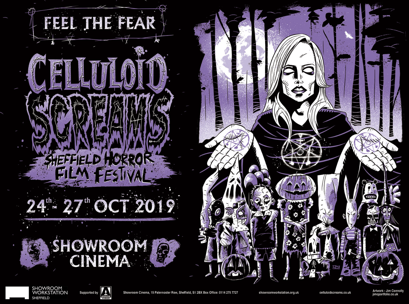 Celluloid Screams 2019 Poster