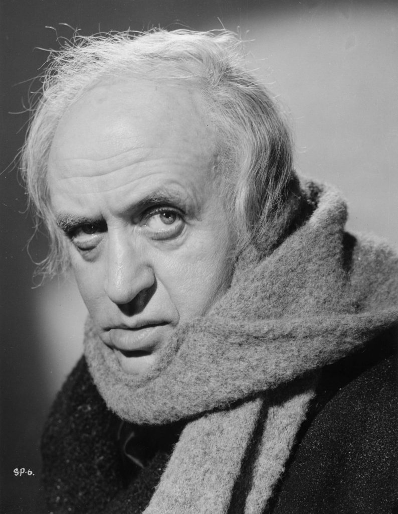 Alastair Sim in Scrooge (1951) (Source: IMDb)