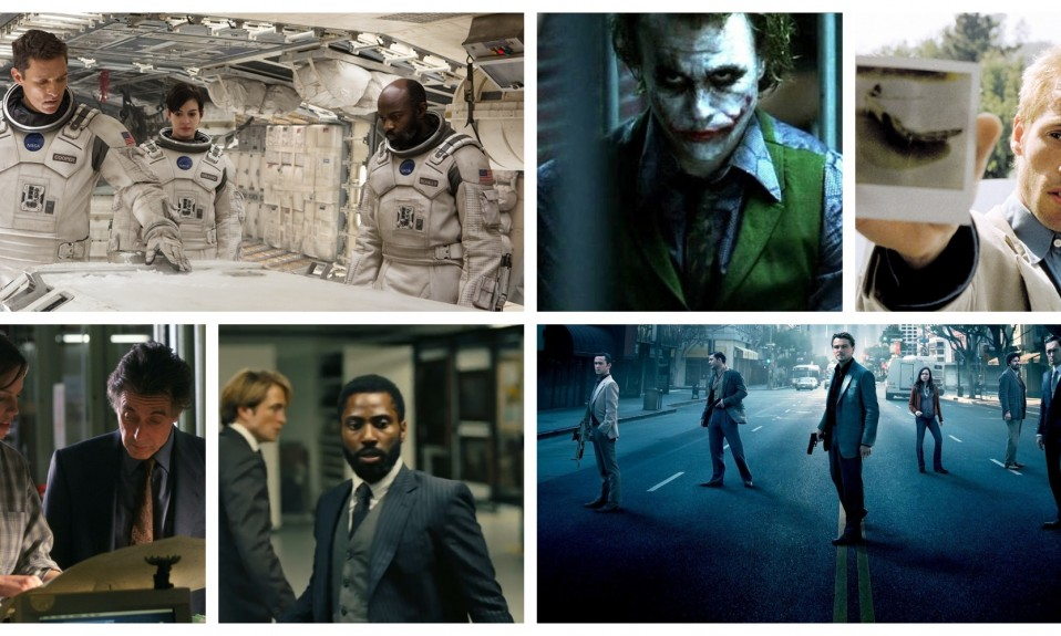 Christopher Nolan Movie Collage