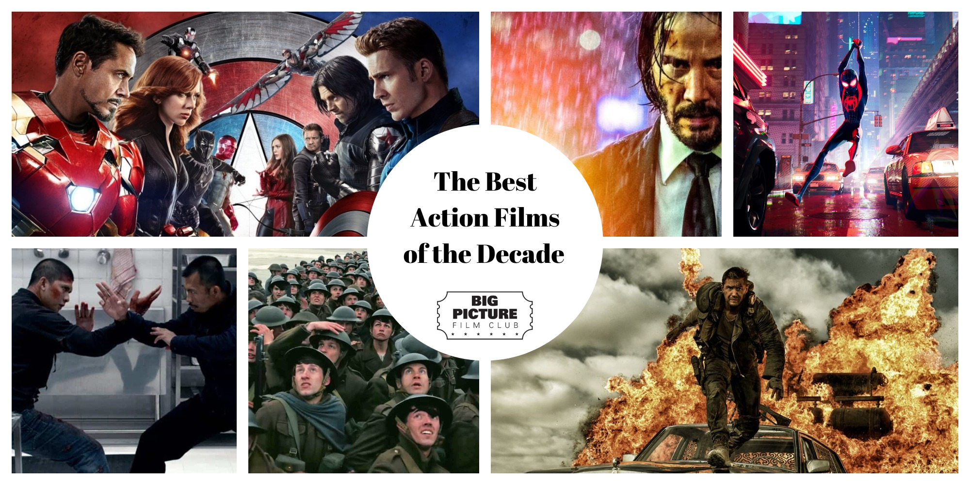 The Best Action Films of the Decade