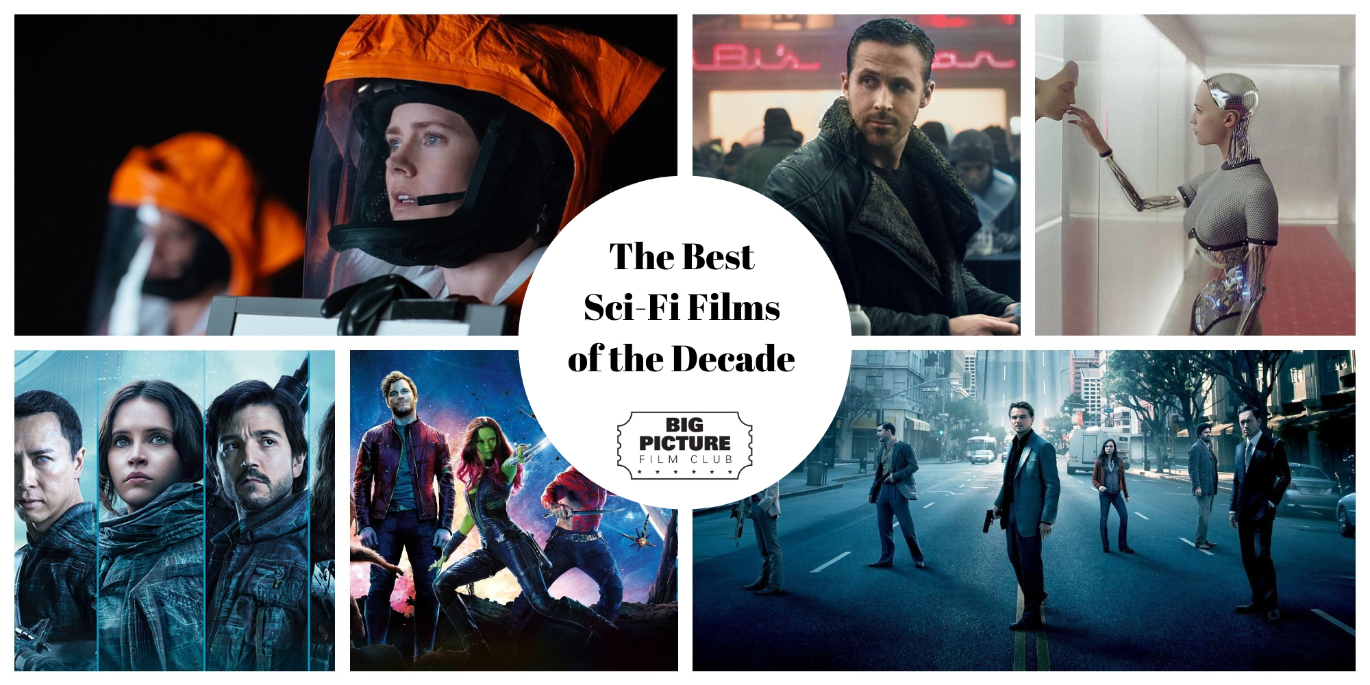 Best Sci-Fi Films of the Decade