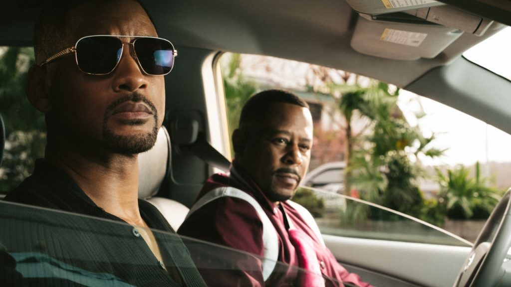 Will Smith as detective Mike Lowrey and Martin Lawrence as Detective Marcus Burnett in Bad Boys for Life.