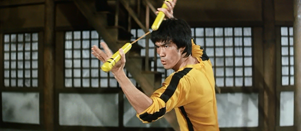 Bruce Lee's nunchaku in Game of Death