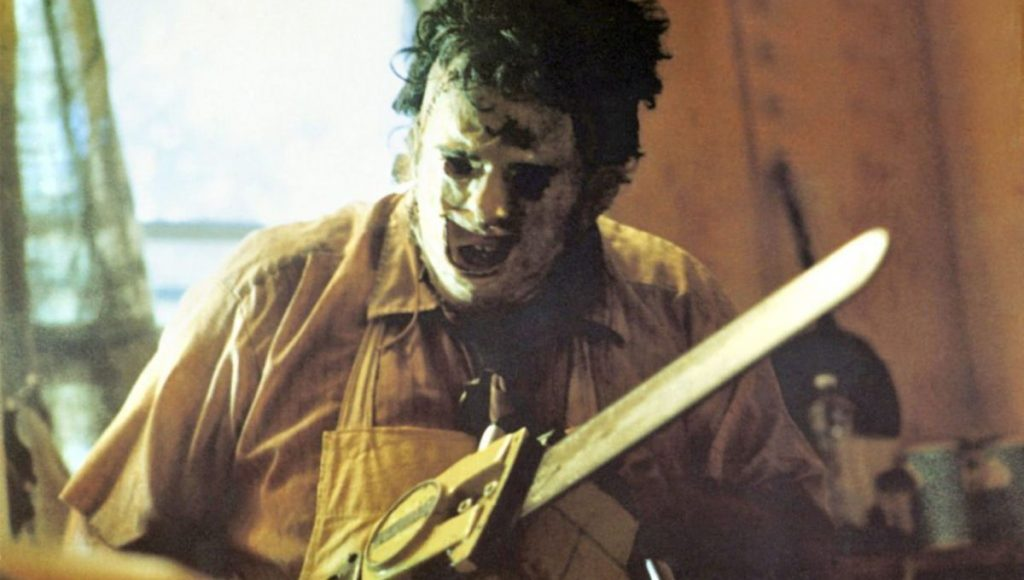 Leatherface's Chainsaw in Texas Chainsaw Massacre (1974)