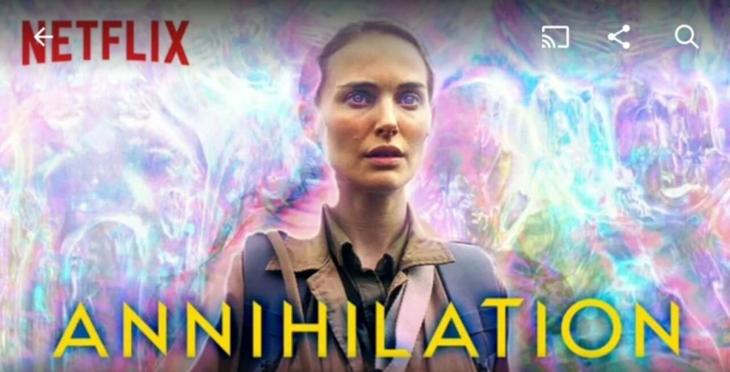 While Annihilation got a theatrical release in the US, in many countries, like the UK it was released on Netflix.