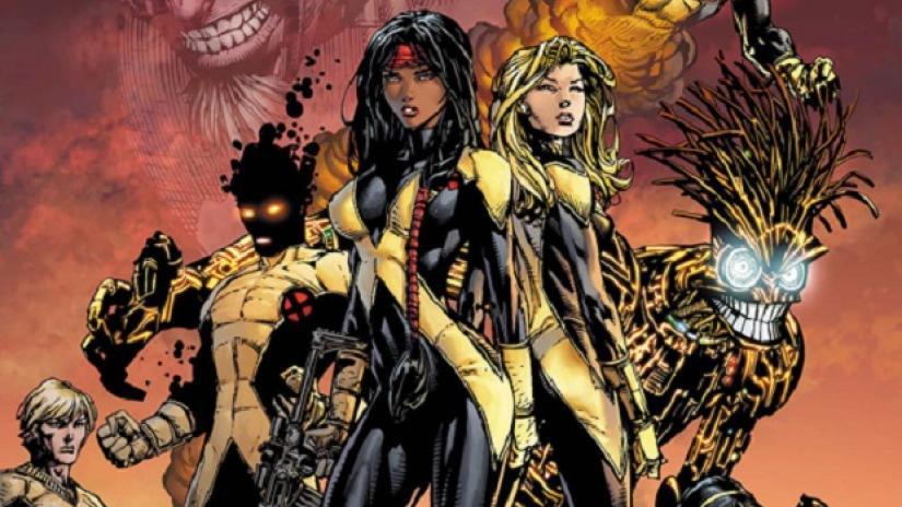The comic book version of The New Mutants (source: denofgeek.com)