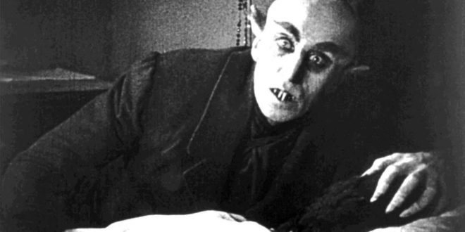 Count Orlok one of Cinema's greatest early horror villains from Nosferatu (1922) [Source: PopHorror]