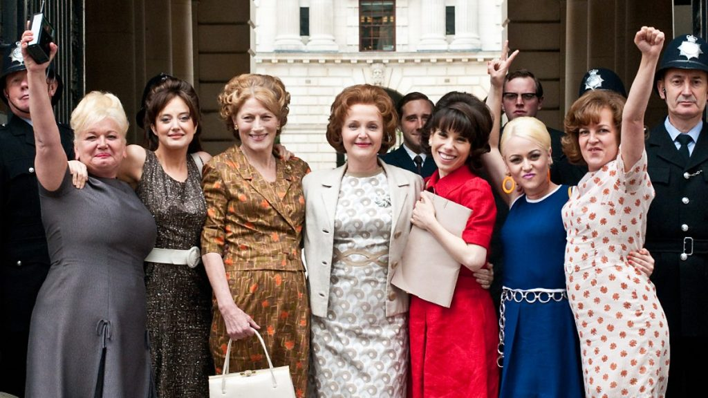 The cast of Made in Dagenham [Source: BBC]