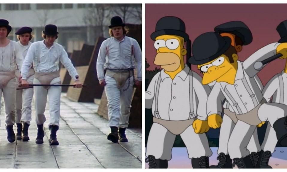 The Simpsons - A Clockwork Orange