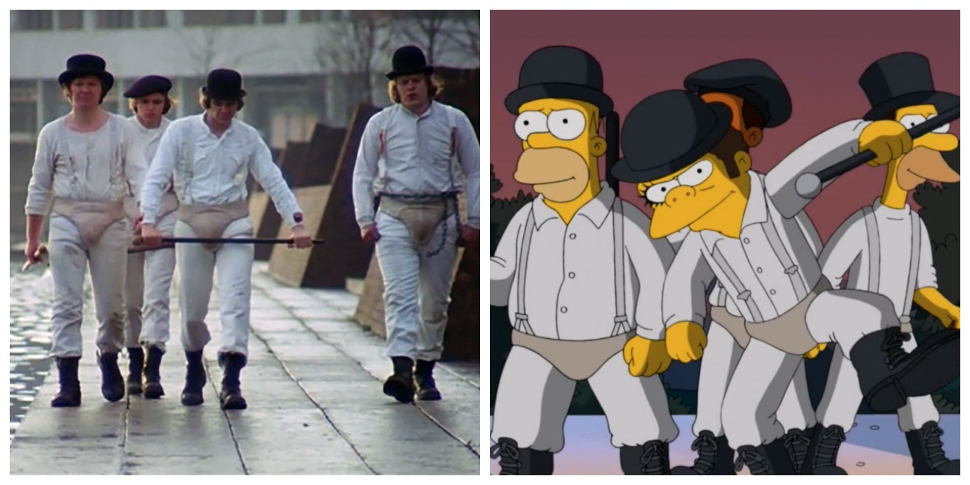 The Simpsons - A Clockwork Orange