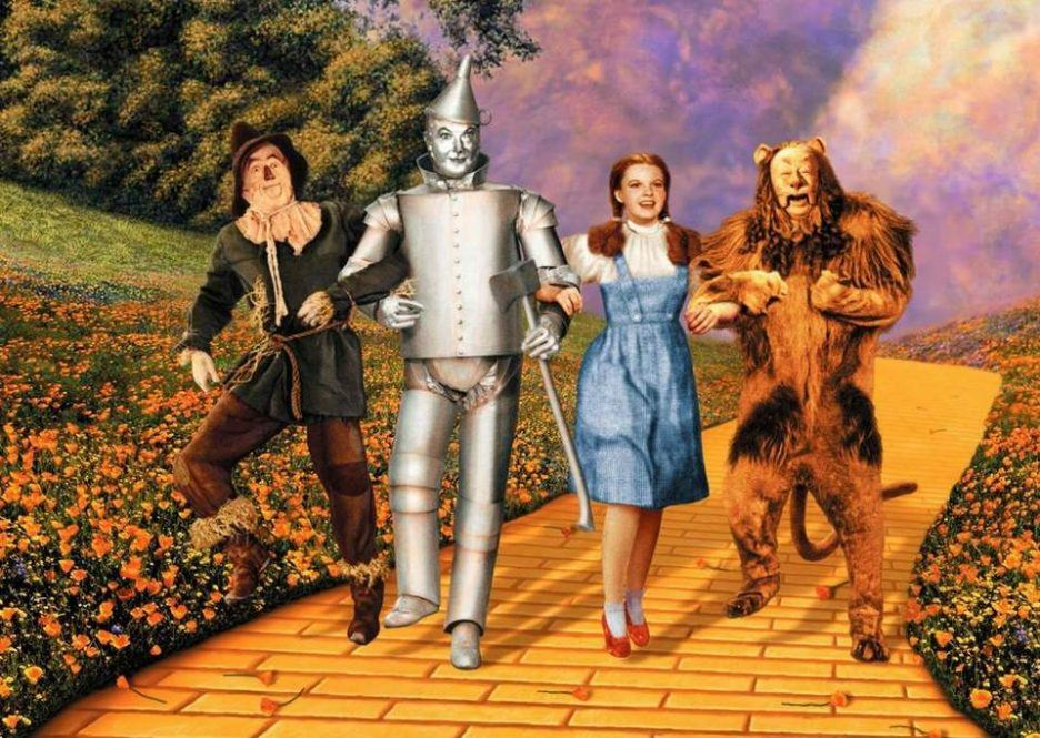 Wizard of Oz, currently streaming on Netflix