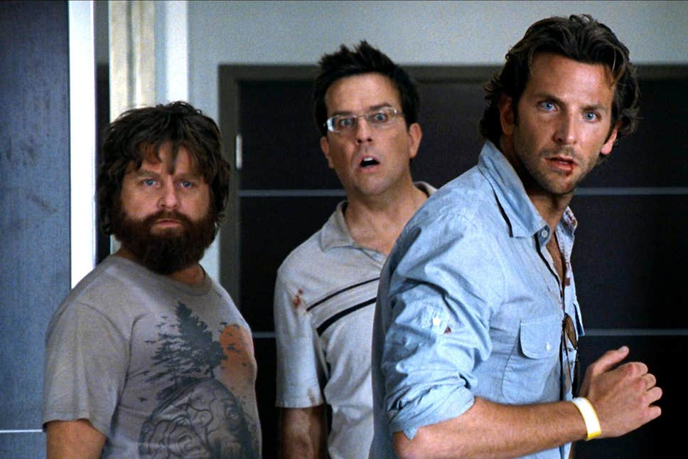 The leads of The Hangover (2009)