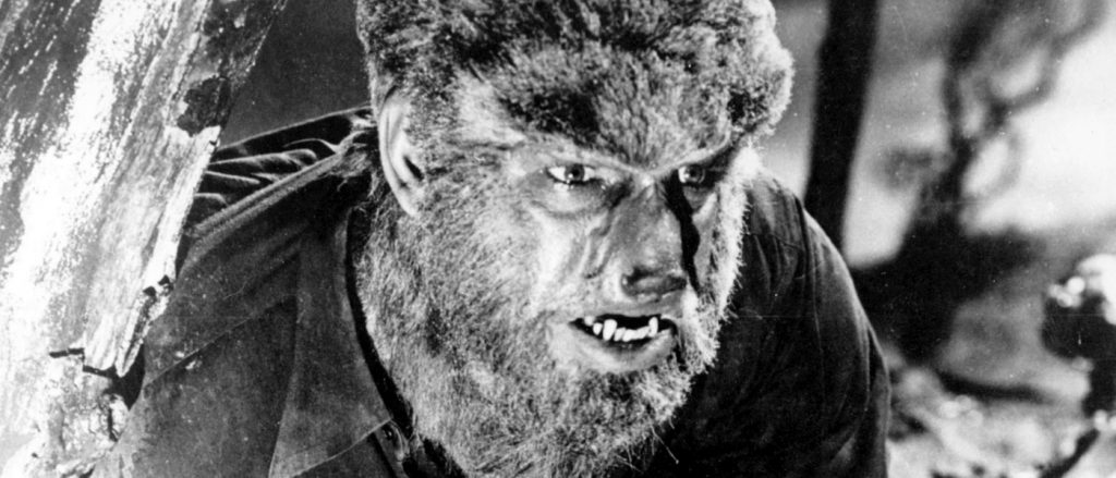 One of cinema's most iconic werewolves. The Wolf Man (1941) [Source: Fiction Machine]