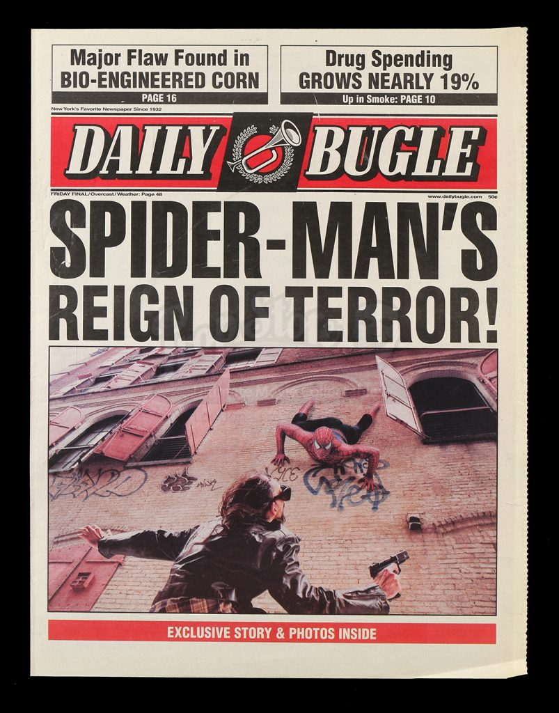 The Daily Bugle News Paper - Spider-Man