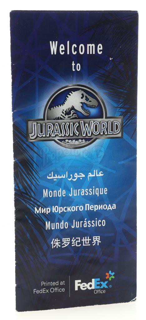 Jurassic World Brochure - Jurassic World (2015)