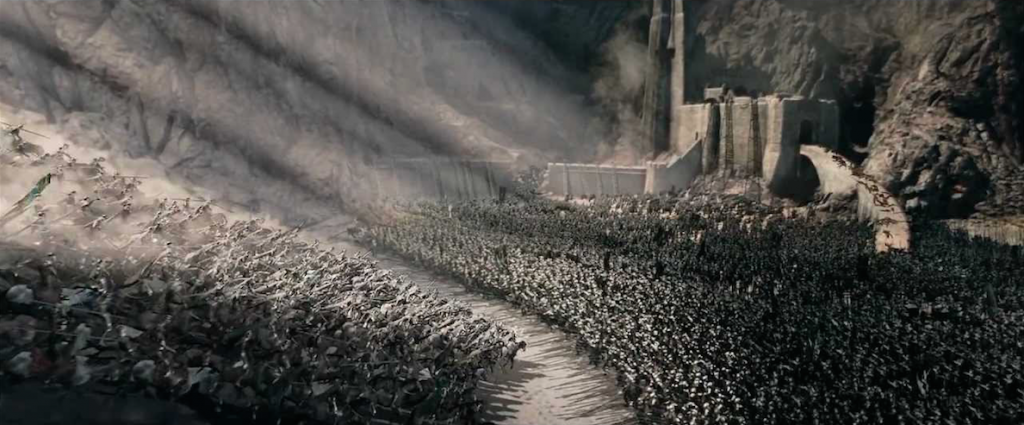 Battle of Helm's Deep - Lord of the Rings