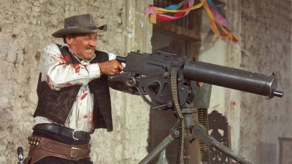 William Holden shooting down suggestions of a Wild Bunch remake