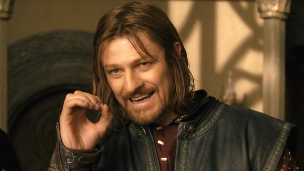 "One does not simply ""meme"" - Lord of the Rings"