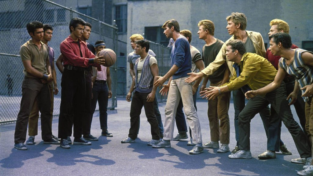 The Sharks & The Jets - West Side Story 1961