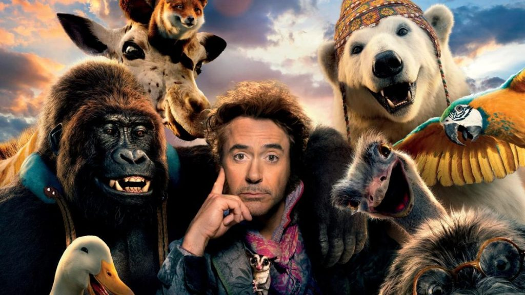 Robert Downey Jr as Dolittle