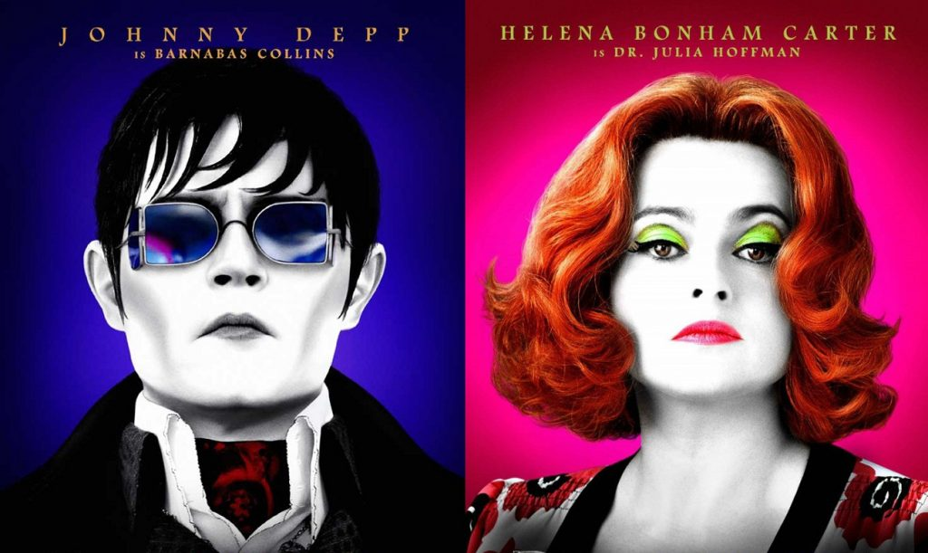 Few actors capture that Tim Burton style quite like these two (Warner Brothers, 2012)