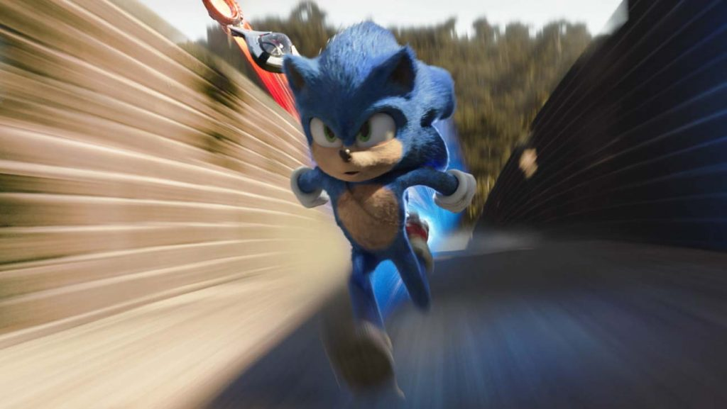 Sonic rushing into the box office top 10