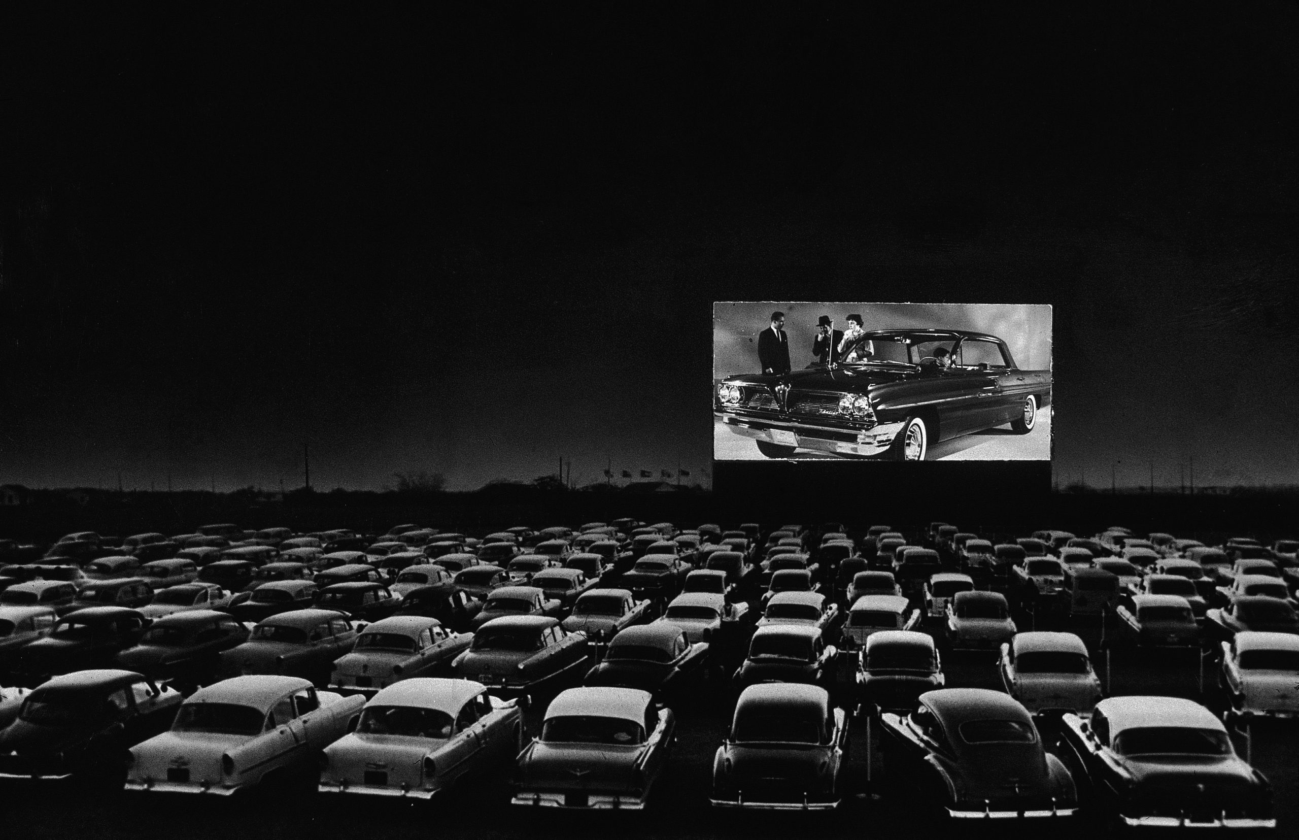 Drive-In Cinema [Source: Harpers Bazaar]