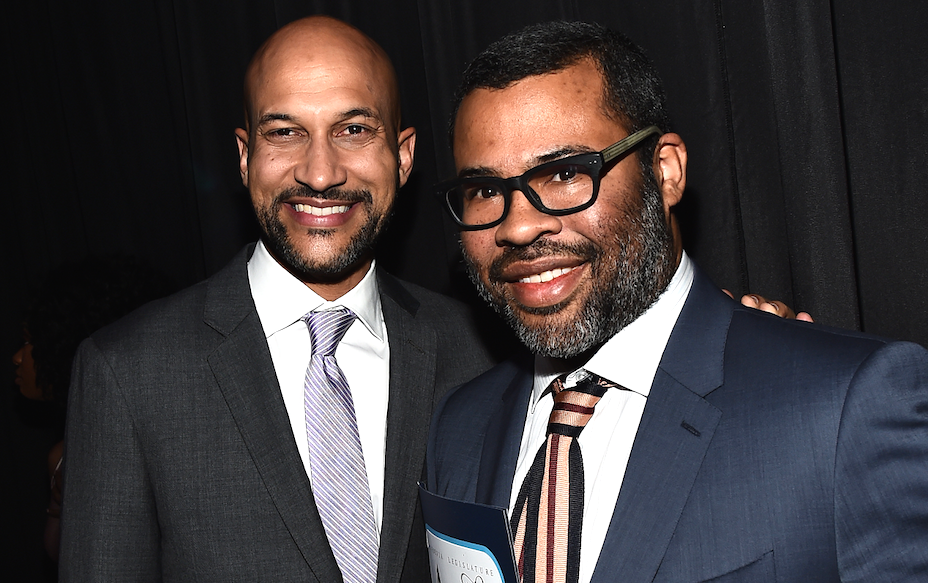 Keegan-Micheal Key and Jordan Peele