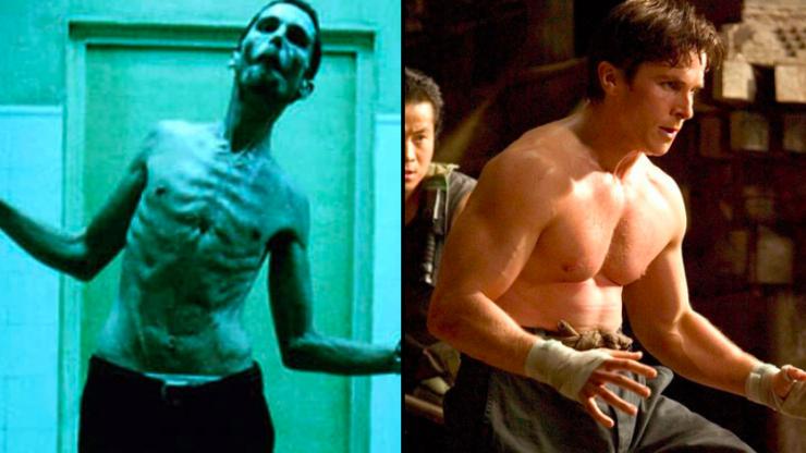 Christian Bale - Batman & The Machinist
