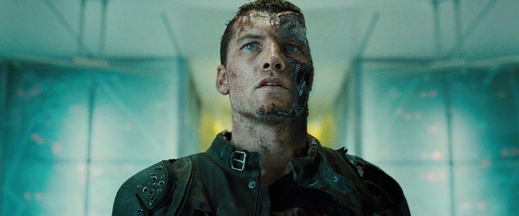 Sam Worthington in Terminator: Salvation