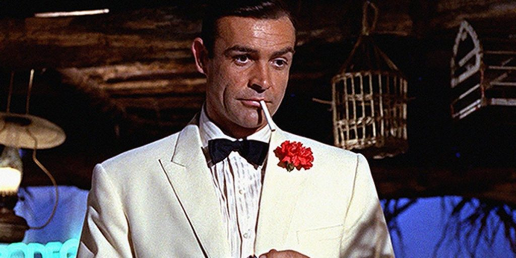 Sean Connery as James Bond (Credit: MGM / Eon Productions)