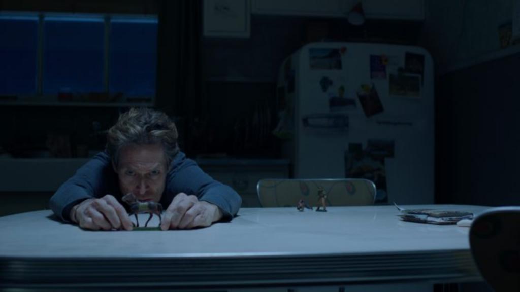 Willem Dafoe as Clint in Siberia