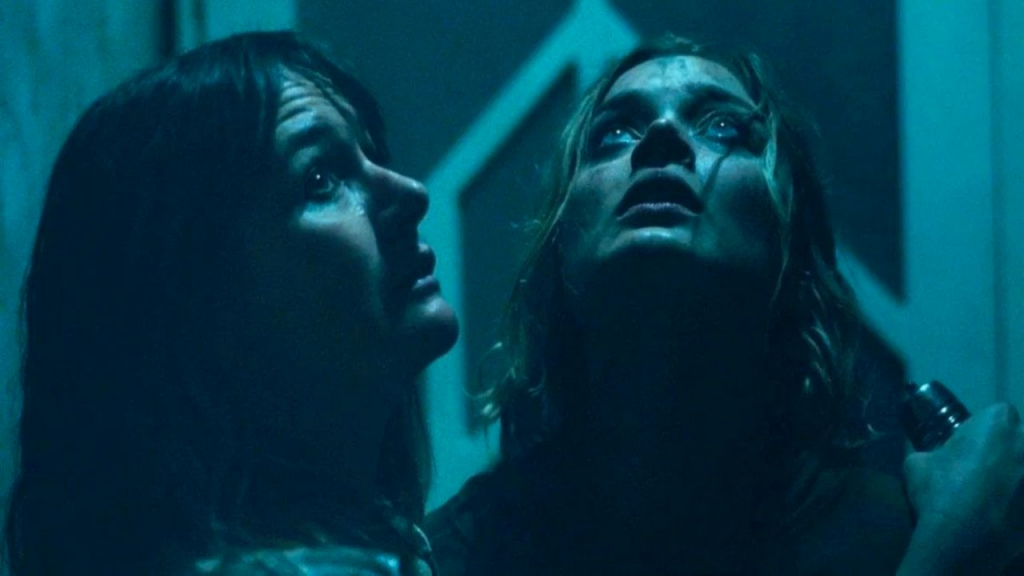 Emily Mortimer as Kay and Bella Heathcote as Sam in Relic