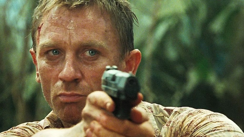 Daniel Craig in Casino Royale (Credit: MGM / Eon Productions)