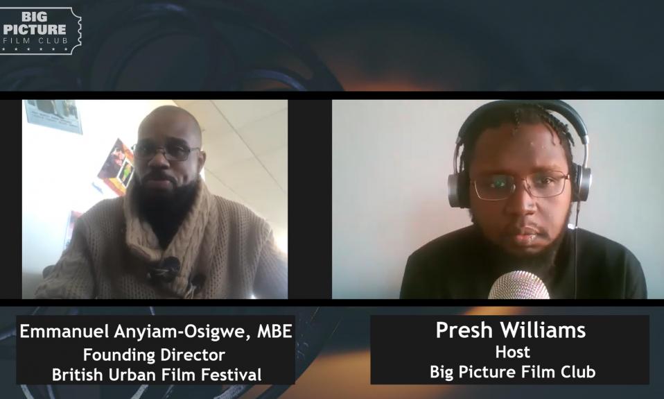 Emmanuel Anyiam-Osigwe - British Urban Film Festival