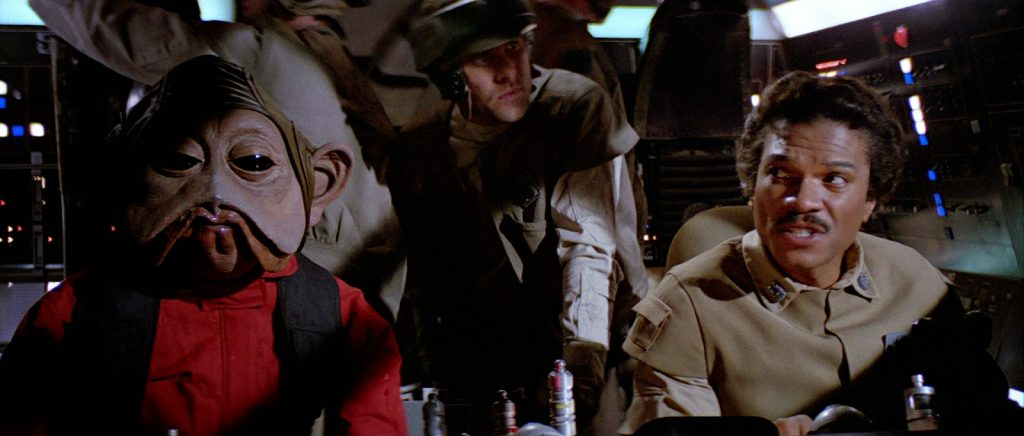 Star Wars - Nien Nunb & Lando Calrissian