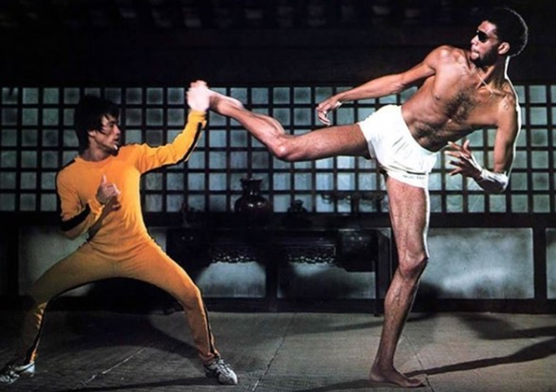 Bruce Lee & Kareem Abdul-Jabbar - Game of Death