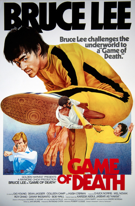 Bruce Lee - Game of Death Poster