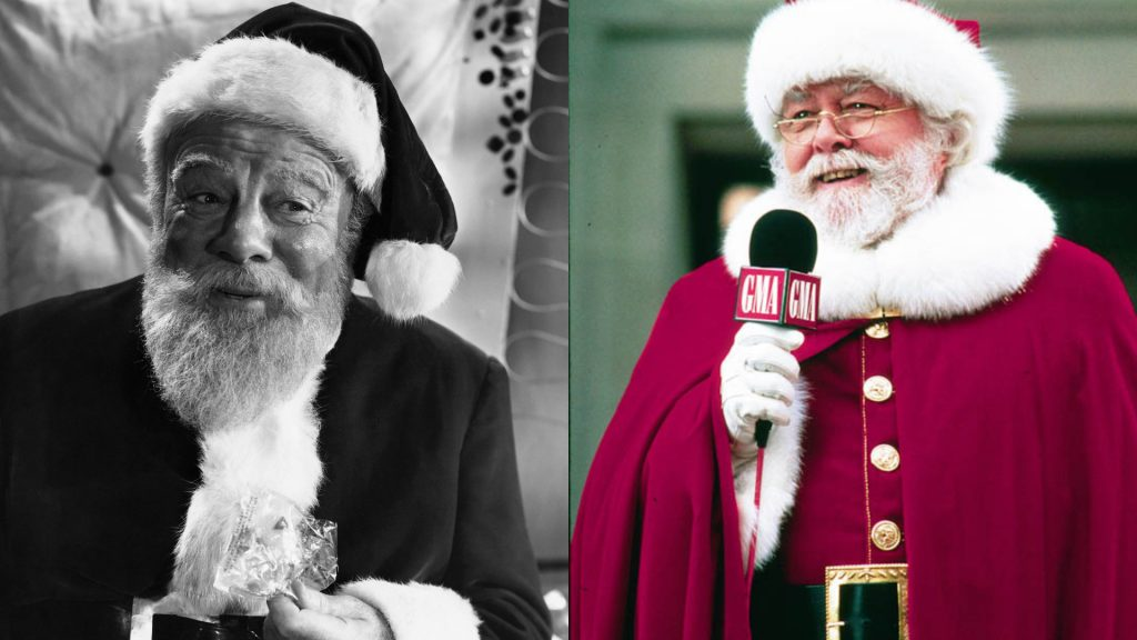 Miracle on 34th Street 2 films [Source Pintrest and Iconic Greats]