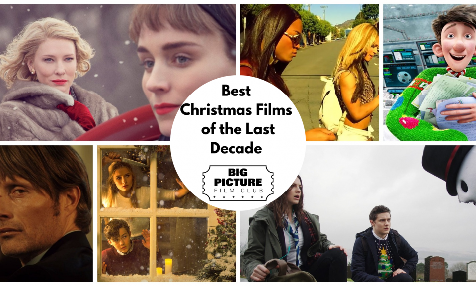 Christmas Films Collage
