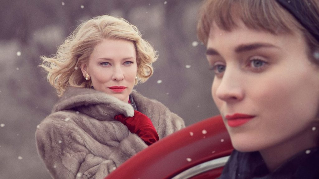 The decades best holiday romance, Carol