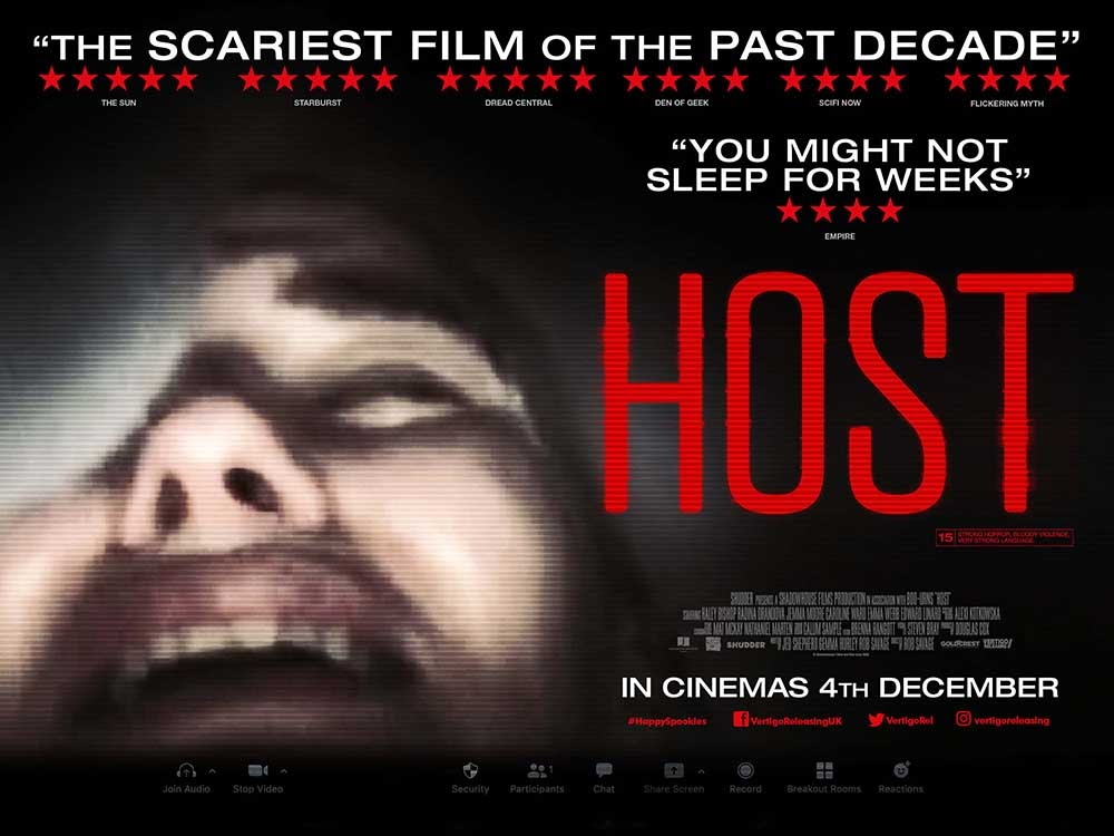 Host - Horror Film - Shudder