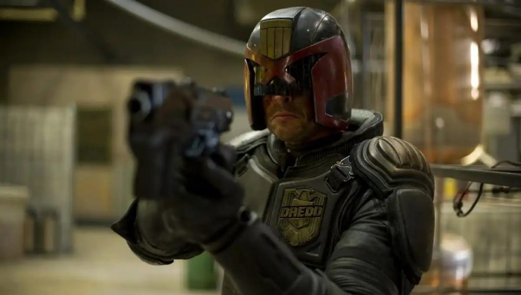 Dredd is a wonderful sci-fi action film [Source: Syfy]