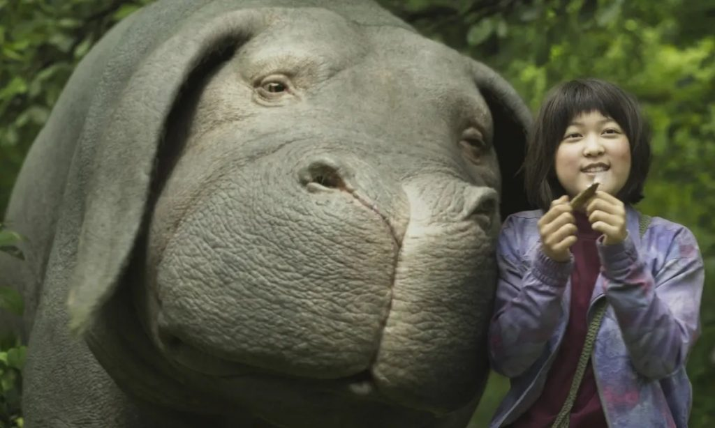 Netflix Original Sci-Fi Okja [Source: The Guardian]