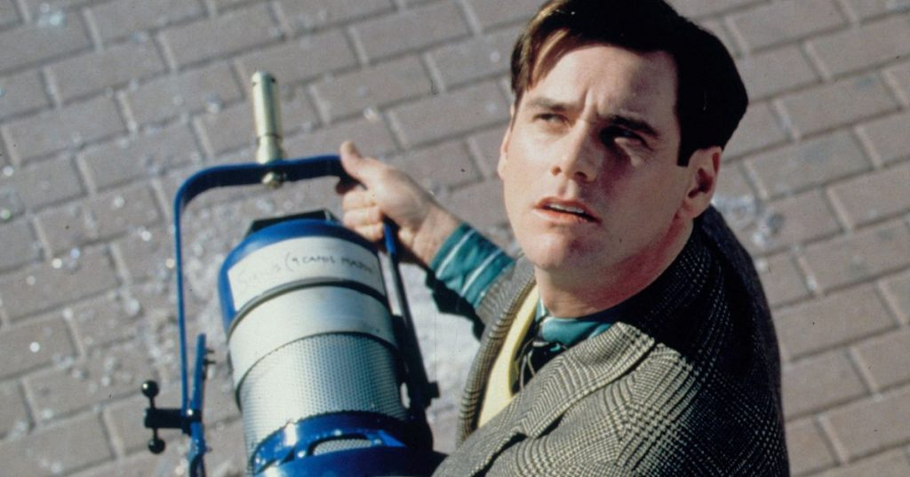 Living in a set in The Truman Show [Source: Vulture]