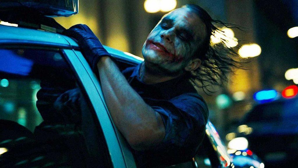 Heath Ledger as The Joker // Credit: Warner Bros