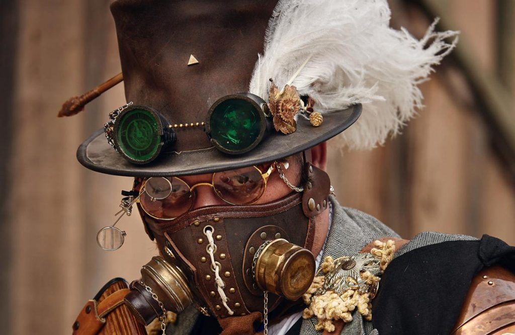 Steampunk fancy dress